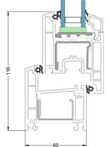 Euro-Design 60 section